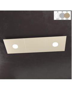 Top Light plafoniera Eccentric 75cm 2L