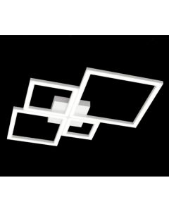 top light plafoniera led fuor squares
