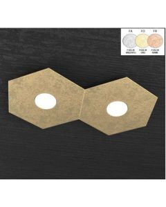 top light plafoniera hexagon