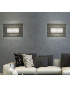 sillux lampada led da parete