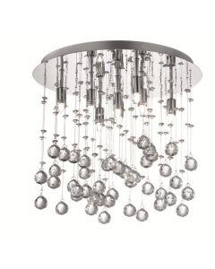 ideal lux plafoniera cristalli moonlight
