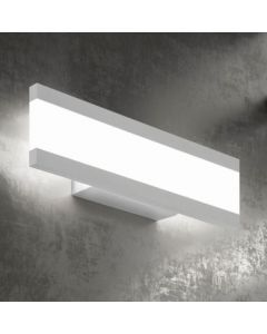 Lampada led da parete bianca Rail 34W