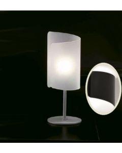 Selene Papiro lampada da tavolo nero